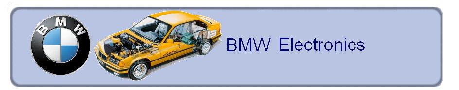 Электроника автомобилей BMW